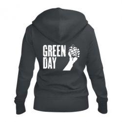 Женская толстовка на молнии Green Day American Idiot