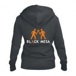 Женская толстовка на молнии Half Life Black Mesa - FatLine