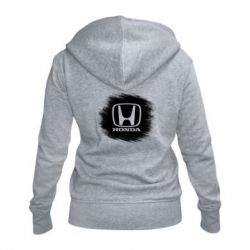 Женская толстовка на молнии Хонда арт, Honda art - FatLine