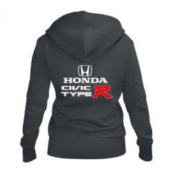 Жіноча толстовка на блискавці Honda Civic Type R