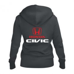 Жіноча толстовка на блискавці Honda Civic
