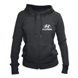 Жіноча толстовка на блискавці Hyundai Малих