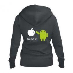 Жіноча толстовка на блискавці I fixed it! Android