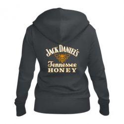 Жіноча толстовка на блискавці Jack Daniel's Tennessee Honey