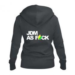 Жіноча толстовка на блискавці JDM As Fuck