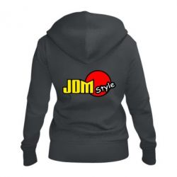 Женская толстовка на молнии JDM Style