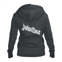 Жіноча толстовка на блискавці Judas Priest Logo