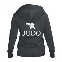 Женская толстовка на молнии Judo