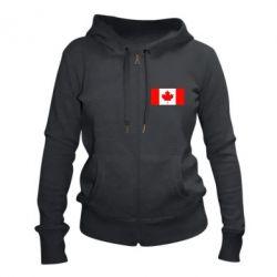 Жіноча толстовка на блискавці Канада