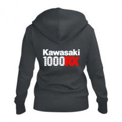 Жіноча толстовка на блискавці Kawasaki 1000RX