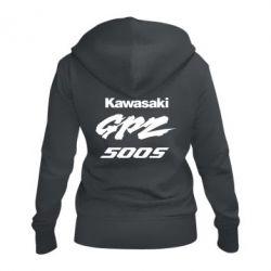 Жіноча толстовка на блискавці Kawasaki GPZ500S