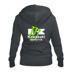 Жіноча толстовка на блискавці Kawasaki Monster Energy
