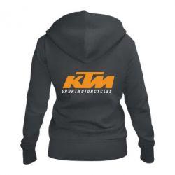 Жіноча толстовка на блискавці KTM Sportmotorcycles