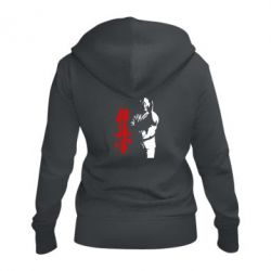 Жіноча толстовка на блискавці Kyokushin Kanku Master
