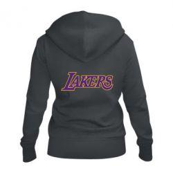 Женская толстовка на молнии LA Lakers - FatLine