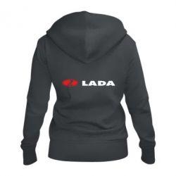 Женская толстовка на молнии Lada
