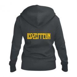 Жіноча толстовка на блискавці Led Zeppelin