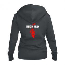 Женская толстовка на молнии Linkin Park Album