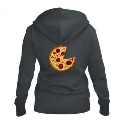 Жіноча толстовка на блискавці Love Pizza