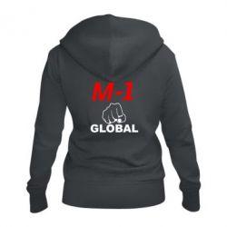 Женская толстовка на молнии M-1 Global