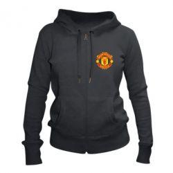 Жіноча толстовка на блискавці Манчестер Юнайтед