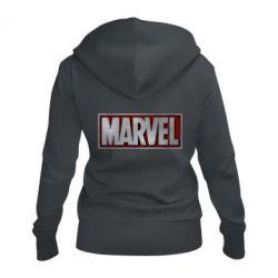 Жіноча толстовка на блискавці Marvel 3D