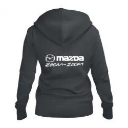 Жіноча толстовка на блискавці Mazda Zoom-Zoom