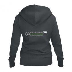 Женская толстовка на молнии Mercedes GP