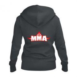 Жіноча толстовка на блискавці MMA Pattern