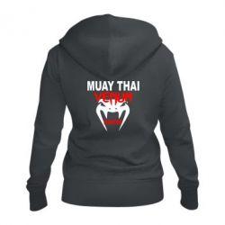 Женская толстовка на молнии Muay Thai Venum Fighter