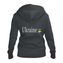 Жіноча толстовка на блискавці My Ukraine