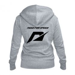 Женская толстовка на молнии Need For Speed Logo