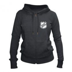 Женская толстовка на молнии NHL - FatLine