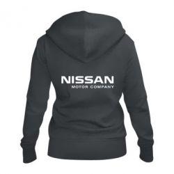 Жіноча толстовка на блискавці Nissan Motor Company