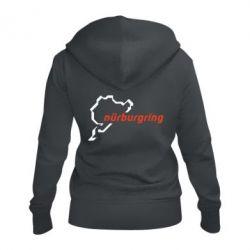 Женская толстовка на молнии Nurburgring