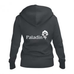 Жіноча толстовка на блискавці Paladin