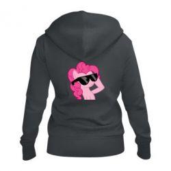 Женская толстовка на молнии Pinkie Pie Cool