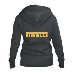Женская толстовка на молнии Pirelli