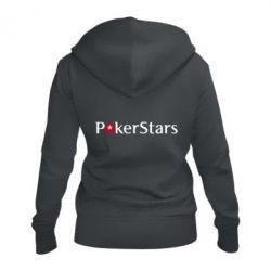 Жіноча толстовка на блискавці Покер Старс