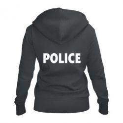 Женская толстовка на молнии POLICE