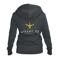 Женская толстовка на молнии Quake 3 Arena