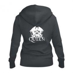 Женская толстовка на молнии Queen