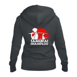 Жіноча толстовка на блискавці Samurai Champloo
