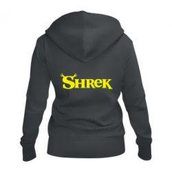 Женская толстовка на молнии Shrek
