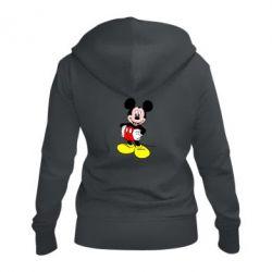 Жіноча толстовка на блискавці Сool Mickey Mouse