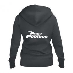 Жіноча толстовка на блискавці The Fast and the Furious