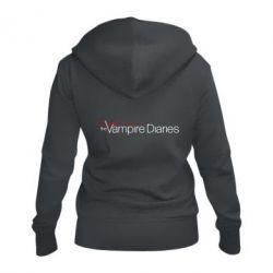 Жіноча толстовка на блискавці The Vampire Diaries Small