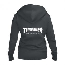 Жіноча толстовка на блискавці Thrasher Magazine