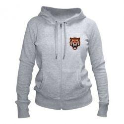 Жіноча толстовка на блискавці Tiger