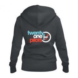 Жіноча толстовка на блискавці Twenty One Pilots Logo